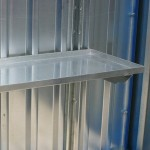 Sump shelf