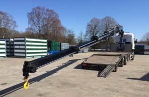 SMT Crane on low loader