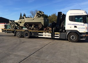 SMT Transport - Moving a Half Track
